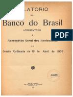 Banco do Brasil - Relatório Anual 1935 - parte 1 p1a12