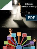 Ethics and Fashion
