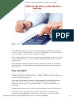 Entenda as Diferenças Entre Custo Direto e Indireto – Jornal Contábil