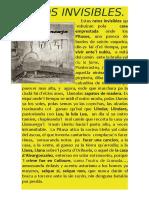Ratos Invisibles en Concierto. 2019