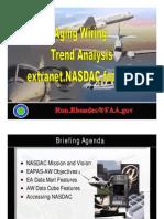 Aging Wiring Trend Analysis