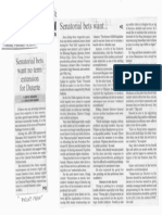 Manila Bulletin, Feb. 19, 2019, Senatorial bsts want no term extension for Duterte.pdf