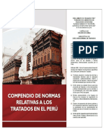 Compendio normativo Tratados Perú