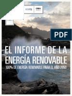 Informe de La Energia Renovable