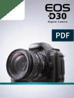 Brochure Eos d30