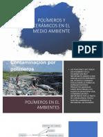 Polímeros y Cerámicos en El Medio Ambiente