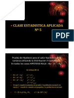 Clase 5 Estadistica Aplicada Ucv