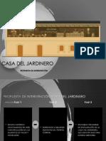 Portfolio Casa Del Jardinero