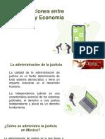 Relación Entre Justicia y Economía
