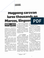 Philippine Daily Inquirer, Hugpong caravan lures thousands on Marcos, Singson turfs.pdf
