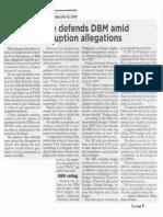 Philippine Star, Feb. 19, 2019, Palace defends DBM amid corruption allegations.pdf