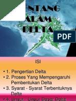 Bentang Alam Delta