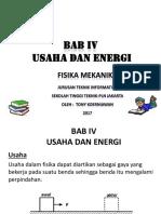 Bab IV Fisika Mekanika
