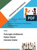 Hub Profesional, Px Marah, Interaksi