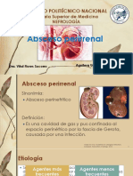 absceso perirrenal
