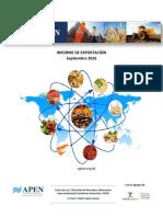 Informe de exportaciones septiembre 2016.pdf