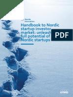 Handbook to Nordic Startup Investor Market 2017