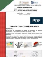 3.3.- Diseño de Zapatas Con Contratrabes PARTE 1