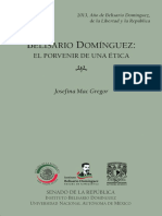 Belisario Domínguez. El porvenir de una ética PARTE 1