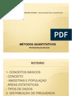 Metodos quantitativos conceitos