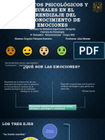 Aspectos Psicológicos y Emocionales en El Aprendizaje Del Reconocimiento Facial