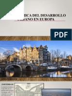 Panorámica Del Desarrollo Urbano en Europa Diapositiva