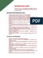 DELEGADO DE CLASE