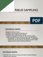 6, Distribusi Sampling