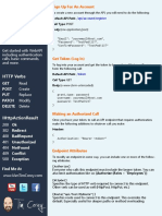 C# Web API cheat Sheet