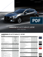 Ficha Tecnica Mazda 3 Hatchback 2018