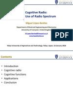 Cognitive radio PPT