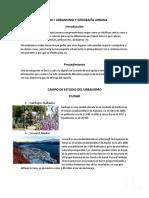 Unidad i Urbanismo y Geografía Urbana