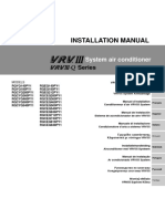 Daikin VRV III (Q Series) Installation Manual