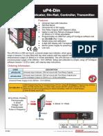 UP4 Din Brochure