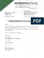 Prakash LTD Pledge Declaration
