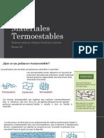 Materiales Termoestables