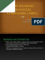 Non Banking Financial Companies ( Nbfc)