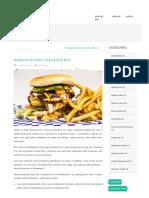Demystifying Cholesterol