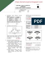 Uji Coba Ujian Nasional 2018-2019 Paket 1