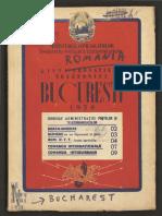 Carte Telefon 1950 Bucuresti
