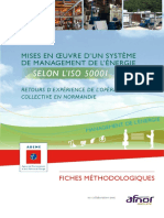 Mises en Oeuvre Systeme Management Energie Selon Iso50001 8122