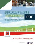 Mises en Oeuvre Systeme Management Energie Selon Iso50001 8122