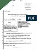 LVJUSD Lawsuit Alleging Special Ed Abuse RG18934021