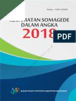 Kecamatan Somagede Dalam Angka 2018