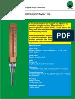 ZV - V Shape Thermometer