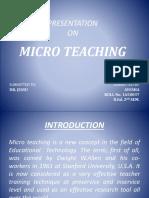 Presentation on Micro Teaching