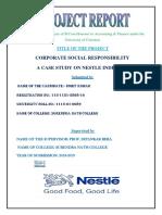 CSR Project Part I