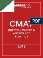 CMAT 2018 Question-Paper