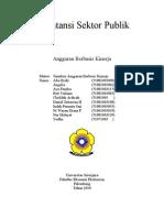 Anggaran Sektor Publik