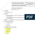 Assesment Report(QMS)